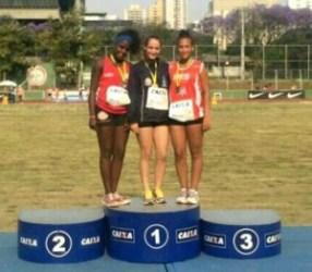 Raphaela Diesse, atleta Sesi-UFJF, é terceiro lugar em Campeonato Brasileiro de Atletismo