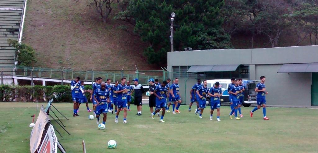 Grupo Carijó treinou no Mário Helênio na tarde desta quarta-feira, mesmo local do treino de quinta e da decisão de sábado
