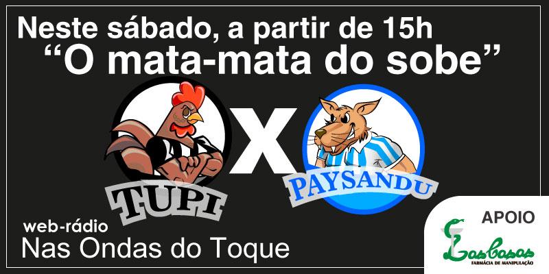 Em casa, na rua ou no estádio, siga Tupi x Paysandu no Toque de Bola: a melhor cobertura pela web
