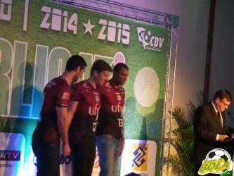 Com UFJF e Toque, abertura da Superliga 2014/2015 apresenta equipes. Veja fotos