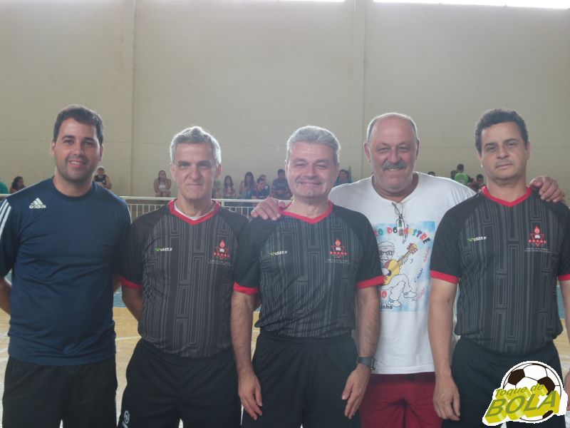 Leo Geara, Antônio Reiff, Adilson Mattos, Alfredo Coimbra e Cássio Ferreira