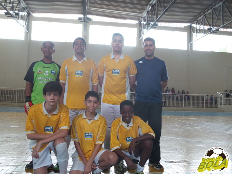 Equipe Sub-13 da AAABB JF