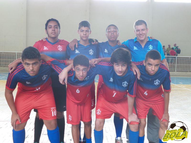 Equipe Sub-15 do Colégio dos Santos Anjos