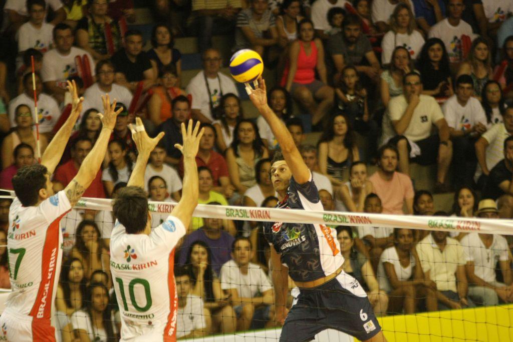 Lorena marcou 23 pontos na partida. Foto: Alexandre Arruda/CBV