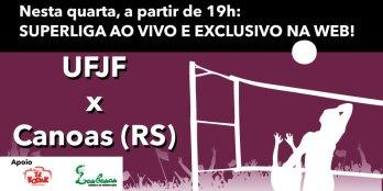 Ao vivo no Toque a partir de 19h, Federal recebe o Canoas buscando primeiros pontos na Superliga