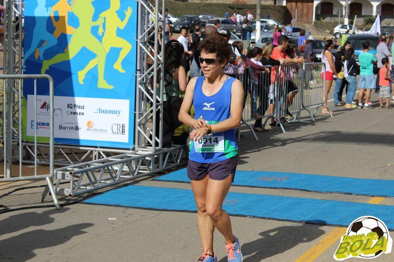 Zirlene: primeiro lugar no geral feminino, em disputa equilibrada