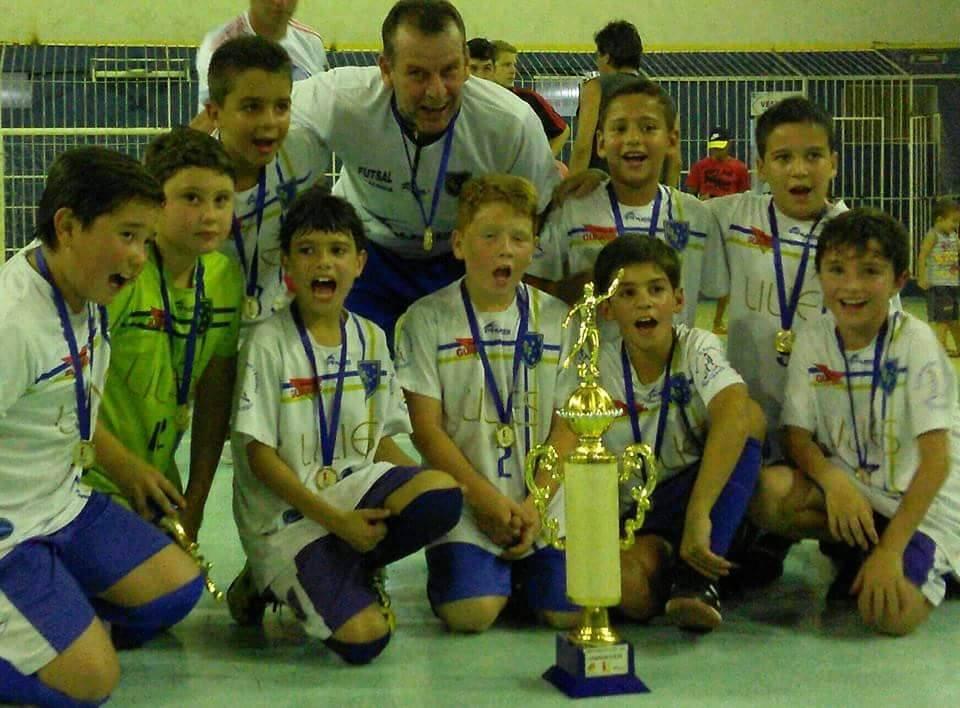 Clube Bom Pastor: campeão sub 9