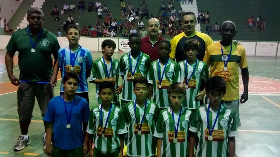 Sport Club Juiz de Fora: vice-campeão sub-11