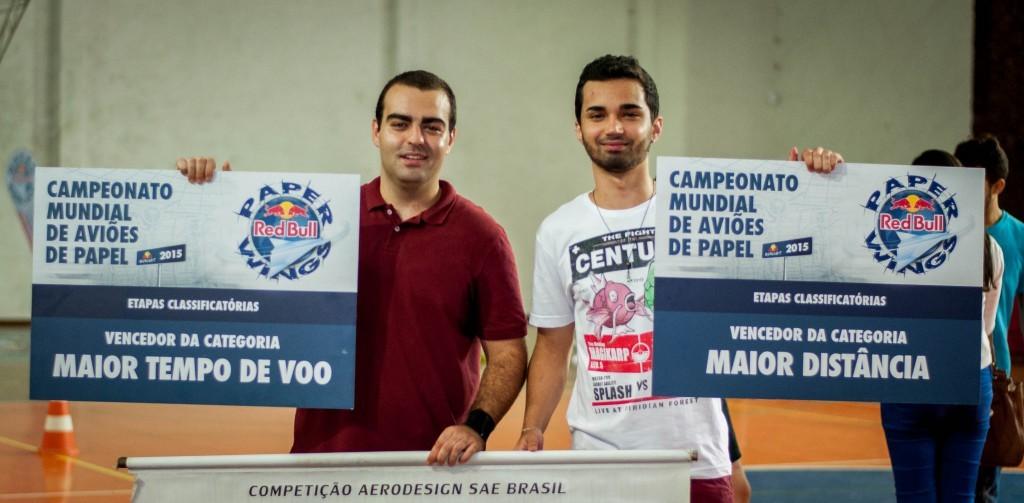 Christian Andrade e Matheus Vilella irão participar da etapa nacional nos dias 7 e 8 de abril (Foto: Géssica Leine)