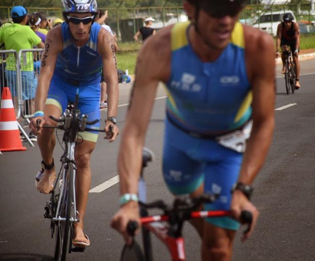 Marcos Hallack marcou ainda mais seu nome na história do triathlon juizforano