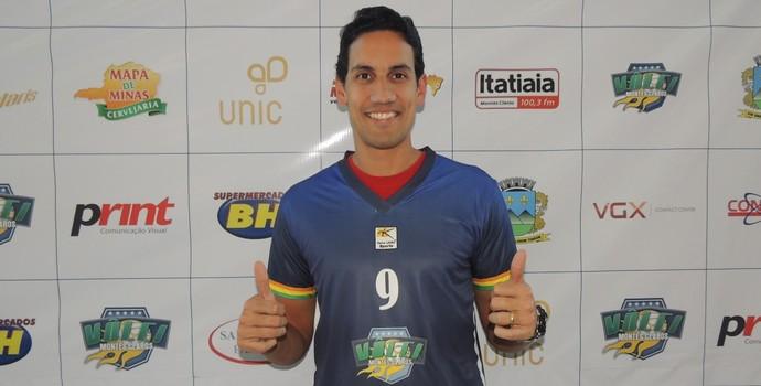 Ídolo do voleibol mundial, mineiro André Nascimento é um dos pilares da nova equipe de Montes Claros