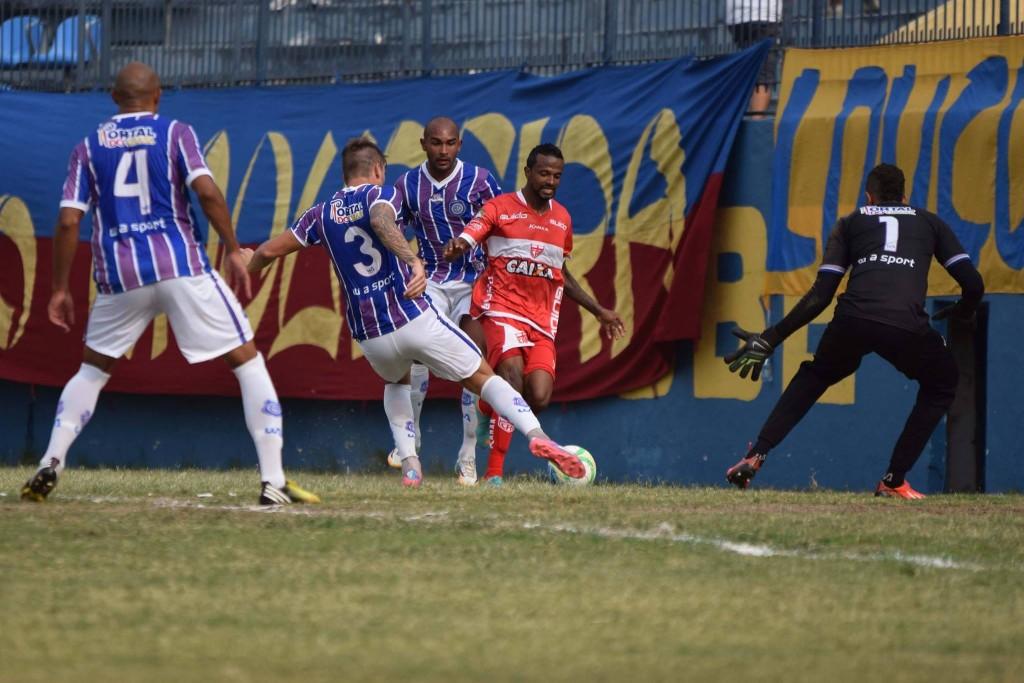 Eliminação para o CRB nas quartas de final em 2014 frustou o sonho do acesso a Série B (Foto: Esporte Interativo)