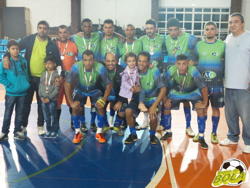 AG Plast: vice no futsal masculino