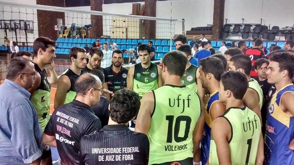 UFJF: vitória na apresentação do time para a torcida, antes do Mineiro e da Superliga