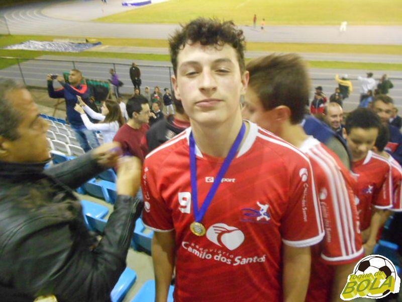 Bernardão, autor do gol do título do CFZ