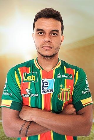 Atacante Geraldo foi anunciado como reforço do Tupi, após a transferência de Daniel Morais para o Náutico (Foto: site do Sampaio Corrêa)