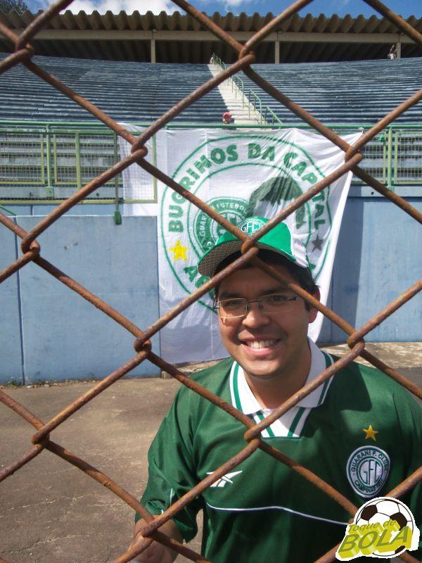 Bruno Viana é exemplo de amor ao clube de coração