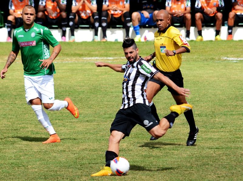 Árbitro da Federação Capixaba de Futebol não deu pênalti claro para o Tupi e invalidou gol do Bugre de jogador em posição duvidosa