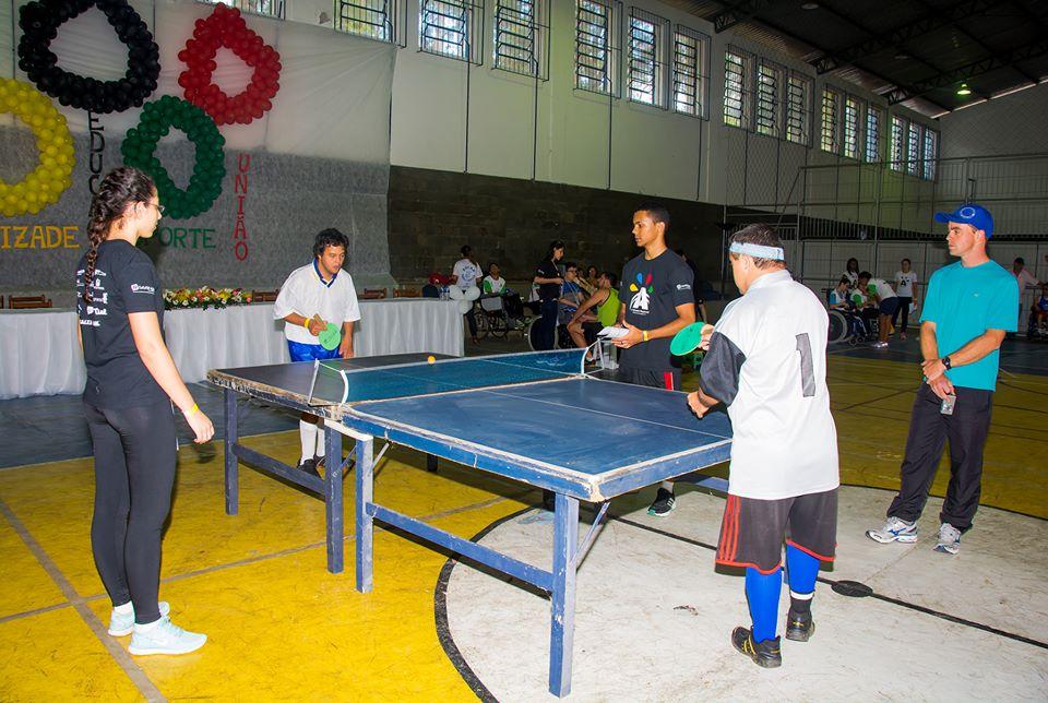 Alunos de Educação Física foram voluntários nas Olímpiadas