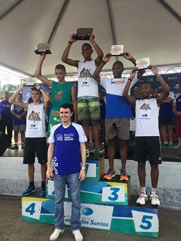 Cinco vencedores no individual masculino