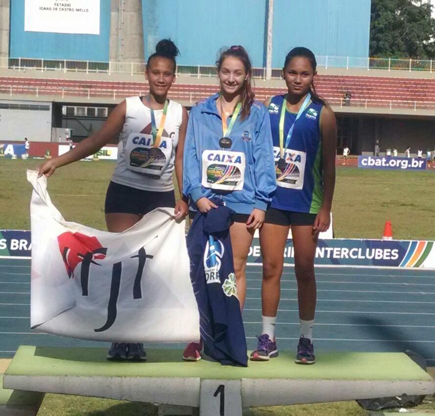 Raphaela Diesse ficou em terceiro (Foto: Jeferson Verbena)