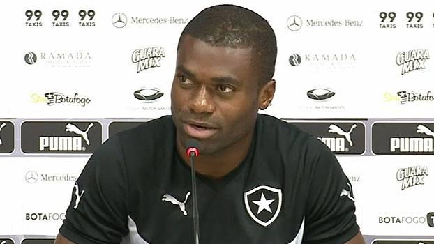 Serginho vem sendo sempre relacionado nas partidas do Alvinegro carioca