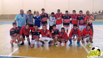 Início avassalador garante o ouro da 3ª Copa Toque de Bola de Futsal ao Mariano sub-15
