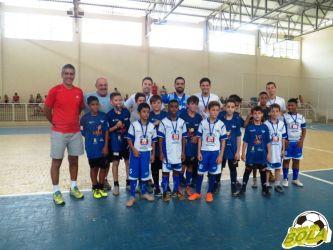 Afiada, dupla do Fajardo/Fripai desequilibra no título sub-11 da 3ª Copa Toque de Bola de Futsal