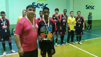 Vôlei do Jesuítas e futsal do Sesi entre os destaques da Copa SESC em JF. Veja campeões e fotos
