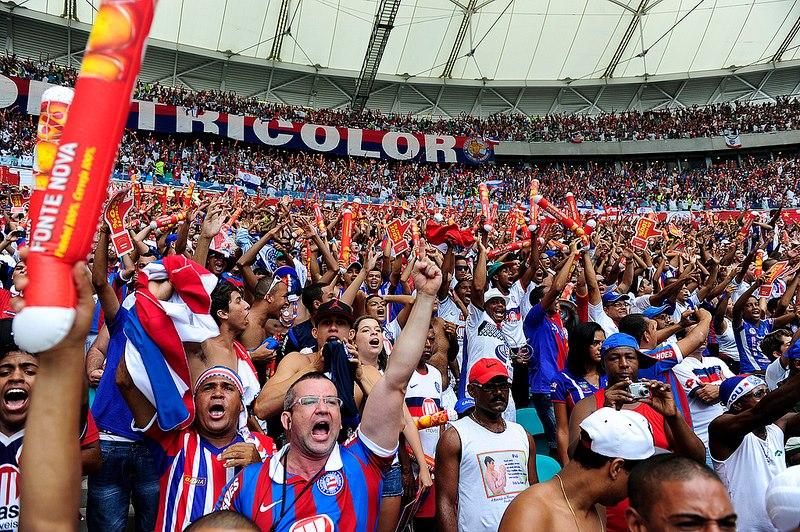 Com quase 17 mil pagantes por jogo, Bahia teve a melhor média de público na Série B 2015 (Foto: Galacticos Online)