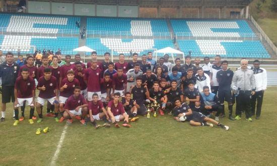 Uberabinha/UFJF e Botafogo disputaram a final da Copa Regional Sub-17. Os cariocas ficaram com o título