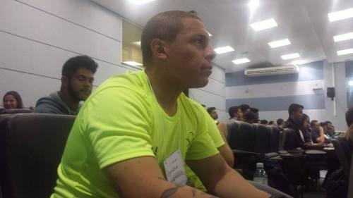 Estudante de Governador Valadares viajou cerca de 500 km para prestigiar congresso da UFJF