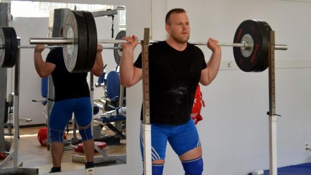 Ondrej Kruzel, da Eslováquia, diz intensificar treinos no período pré-Jogos; prova da categoria de homens acima de 105kg ocorre no dia 16 (Foto: Twin Alvarenga/UFJF)