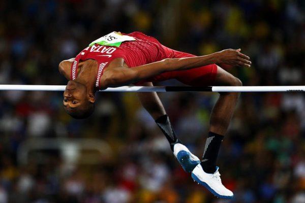 Único atleta do Qatar em Juiz de Fora, Mutaz Barshim conquistou medalha de prata na Rio 2016