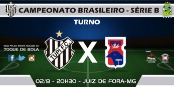 Tupi x Paraná, às 21h30, marca encerramento do primeiro turno para o carijó. Siga pelo Toque