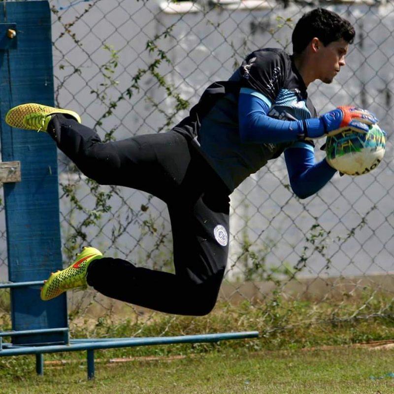 Rodrigo ajudou o São Bento na campanha do acesso (Foto: Jesus Vicente)