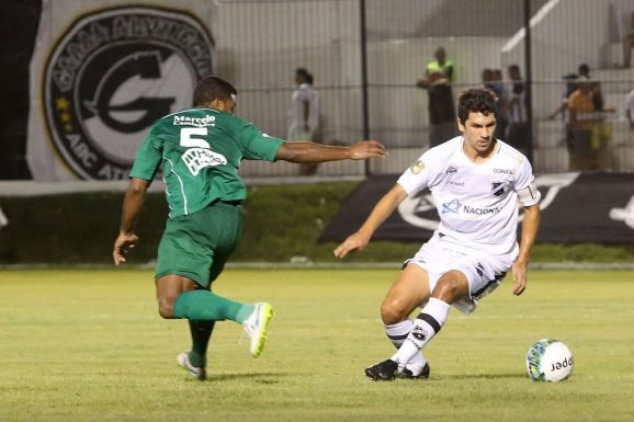 Lucio Flávio marcou dois gols pelo ABC (Foto: Divulgação ABC)