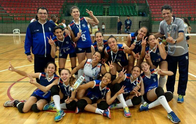 Equipe Minas Náutico, vencedora do Metropolitano