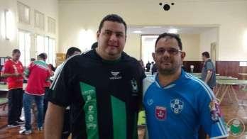 Alex Lage (FCA) sagrou-se campeão) e Hélio Pereira (Futrica) ficou com o vice