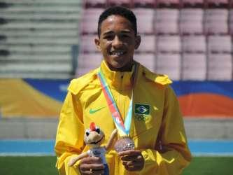 Pedro Henrique Oliveira, do Cria-UFJF, é campeão sul-americano nos Jogos da Juventude