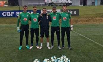 Fernando Corrêa, ex-Faefid-UFJF, é treinador de goleiros da seleção brasileira sub-15 no Sul-Americano