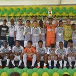 Vice-campeão sub-13: Escola de Futebol Geração do Futuro
