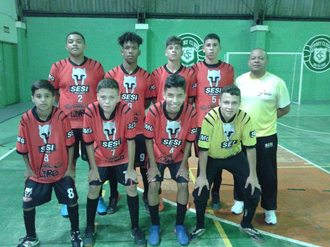 Copa Prefeitura Bahamas de Futsal 2018  SESI São João Nepomuceno (categoria  Infantil) fa14624f6a392