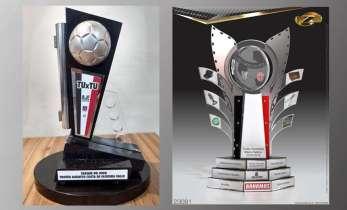 """Tu-Tu vale dois troféus: """"Mário Helênio"""" e """"Augusto Valle"""""""