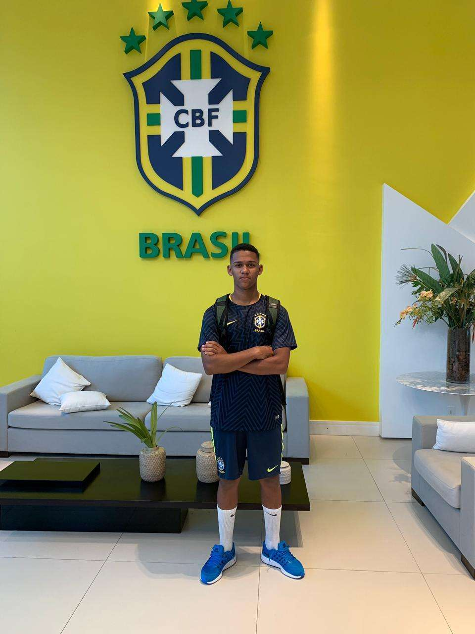 Sub-17: juiz-forano Guilherme está no grupo da seleção em Teresópolis!