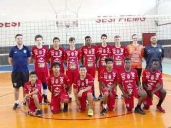 Sesi/JF Vôlei no Mineiro sub-15