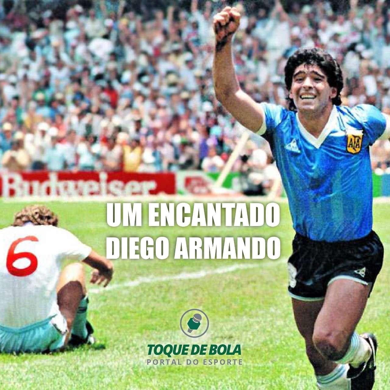 O futebol dá adeus ao craque Maradona