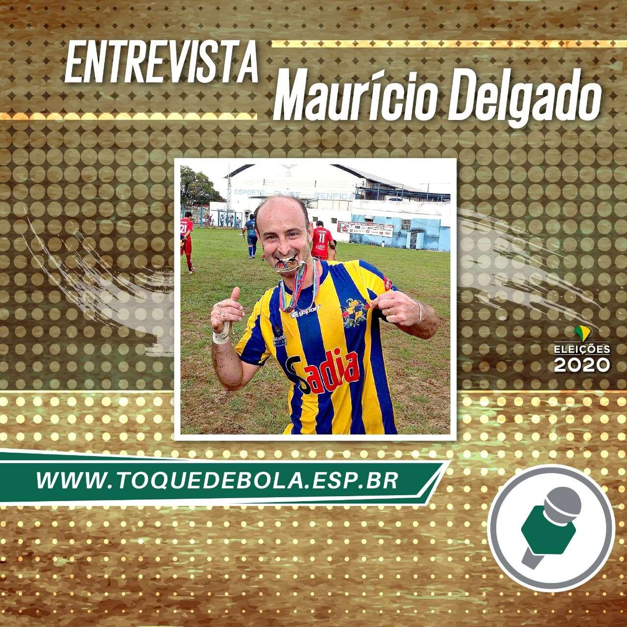 """Para vereador eleito Maurício Delgado, """"esporte é fundamental"""""""