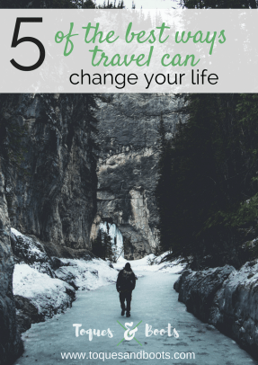 It's a bold statement, stating something can change your life. But it's one we take seriously because travel truly can change your life - for the better.