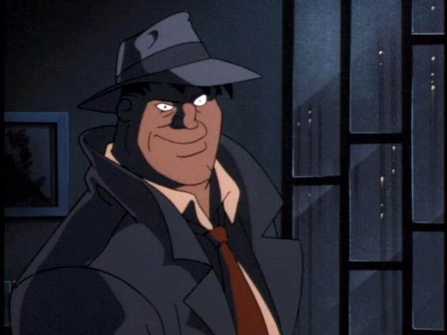 Batman the Animated Series Bullock